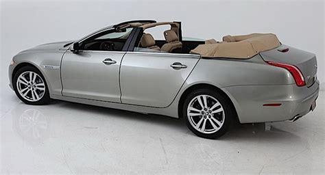 four door convertible nce converts new jaguar xj into a four door convertible