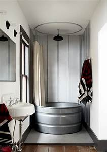 Home Design Trends: Galvanized Stock Tanks and Feed