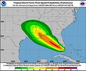 Tropical Storm Gordon Not A Threat To Bermuda - Bernews