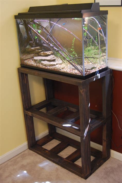 aquascaping art diy aquarium stand plans