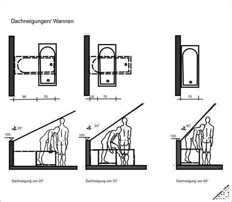 Bad Dachschräge Grundriss by Planung Wanne Bei Dachschr 228 Ge Bad Badezimmer