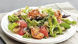 Grilled Salmon and Grapefruit Salad Recipe - BettyCrocker.com