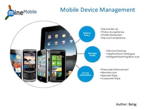 mdm mobile device management