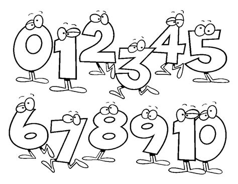 Coloring Numbers Pages by Numbers Coloring Pages Getcoloringpages