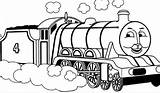 Train Coloring Thomas Clipartmag sketch template