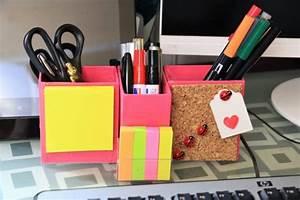 Schreibtisch Organizer Basteln : diy schreibtisch organizer handmade kultur ~ Eleganceandgraceweddings.com Haus und Dekorationen