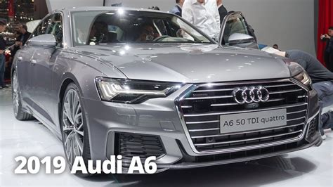 First Look 2019 Audi A6 Saloon At Geneva Motor Show 2018