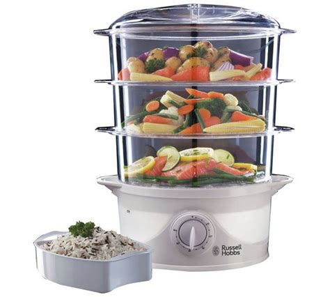 steam cuisine vitasaveur buy hobbs your creations 3 tier food steamer 21141
