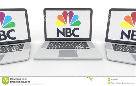 Notebooks With National Broadcasting Company Nbc Logo On
