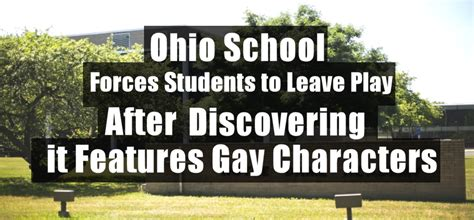 ohio school forces students  leave play