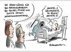 GESUNDHEIT+MEDIZIN Schwarwel Karikatur