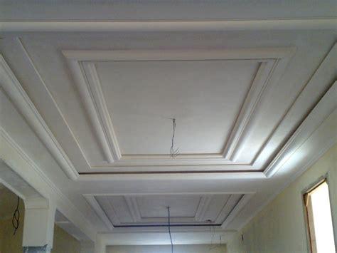 decoration platre plafond simple