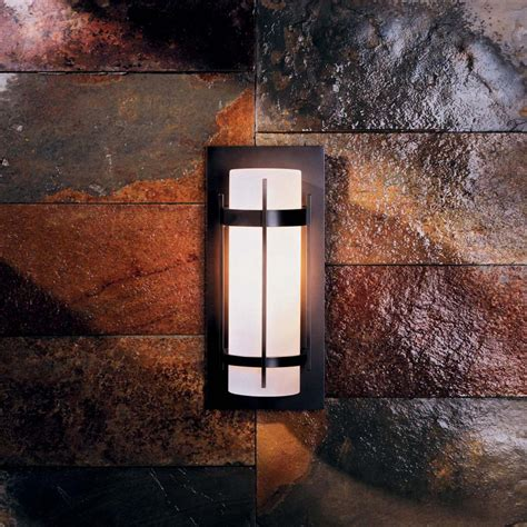 exterior outdoor wall light fixtures sconce lighting mounted in brick wall