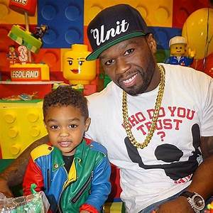 50 Cent & ex-Girlfriend host LEGO themed 3rd Birthday ...