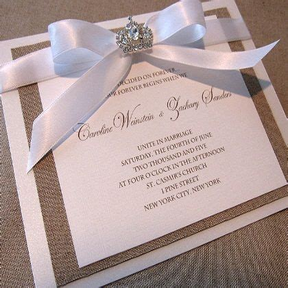 Elegant Wedding Invitations For Couples Convite de