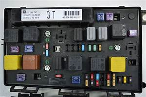 Opel Astra H Fuse Box