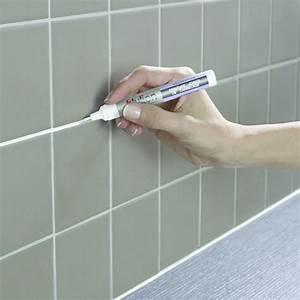 Joint Pour Carrelage : stylo pour coloration de joints de carrelage peinture ~ Melissatoandfro.com Idées de Décoration