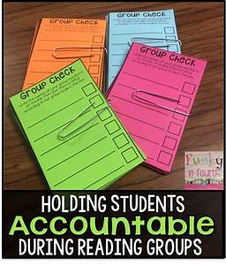 Funky in Fourth: Holding Students Accountable During ...