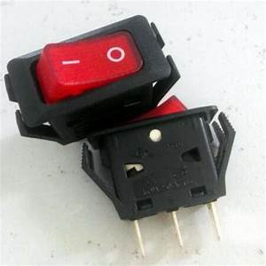 3pcs Red Pilot Light Heavy Duty 110v