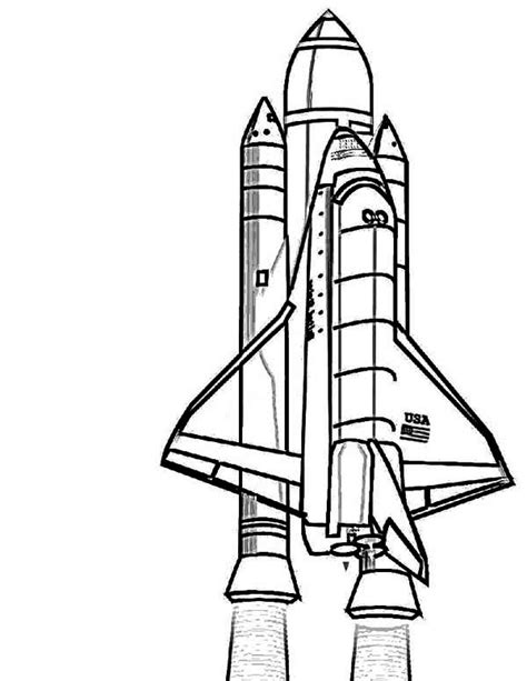 space shuttle clipart black and white space shuttle coloring pages clipart panda free