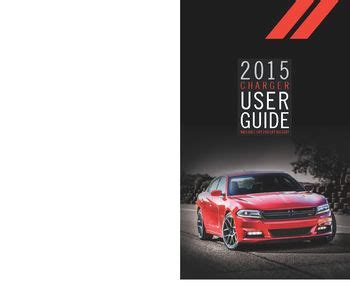 dodge charger user guide  manual