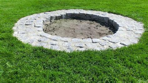 Die Obi Selbstbauanleitungen  Feuerstelle  Garten Ideen