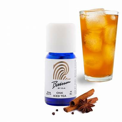 Chai Tea Iced Liquid Buisson Dtl Mtl
