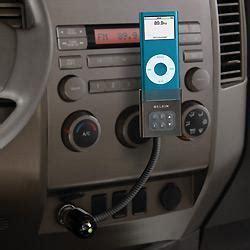 belkin tunebase fm car connection kit  ipod nano iphone