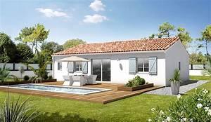 maison modele premium plain pied modele maison With exceptional exemple de maison neuve 4 photos maison neuve plein pied