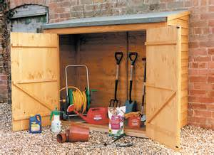 Small Garden Shed Storage Ideas
