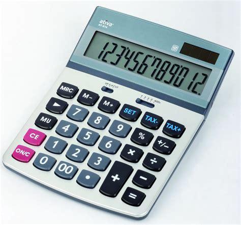 bureau à partager calculatrice ativa at 814 12 chiffres
