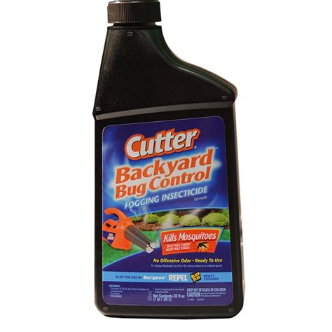 Cutter Backyard Bug Review by Cutter 32 Oz Fogging Insecticide 190368 The Home Depot