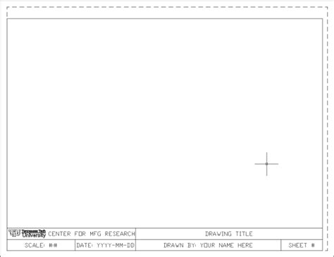 Acad Template by Best Photos Of Autocad Drawing Templates Drawing Title