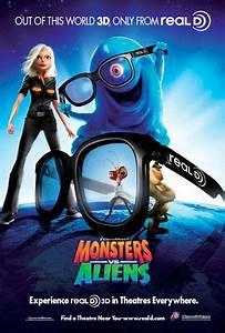 Monsters vs. Aliens (2009) Poster #1 - Trailer Addict