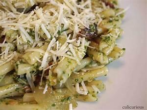 Arugula Pesto Pasta Recipe - culicurious