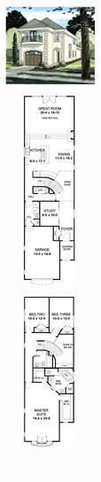row home floor plans best 25 narrow house plans ideas on narrow