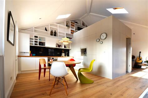 A Small Loft In Camden By Craft Design