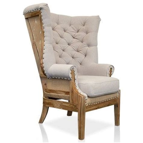 restoration hardware deconstructed wing chair