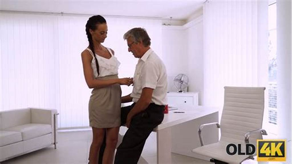 #Young #Tanned #Secretary #Liliane #Gets #Pounded #Doggy #By #Her