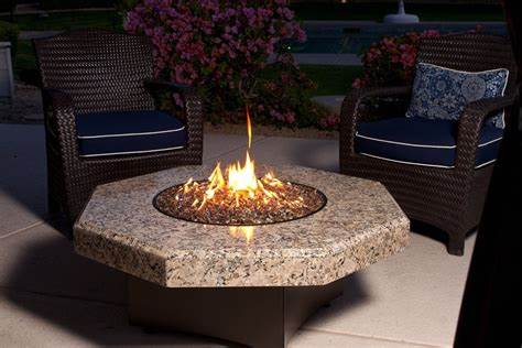 An outdoor fire pit is the best way to keep cozy on a cold summer night. Top Ten Best Gas Fire Pit Tables 2020