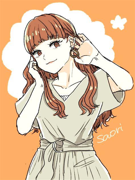 Takebe Saori Girls Und Panzer Drawn By Arai Ako Danbooru
