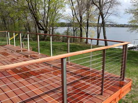 cable deck railing cost ultra tec deck cable railing modern deck by ultra tec cable railing by the cable connection