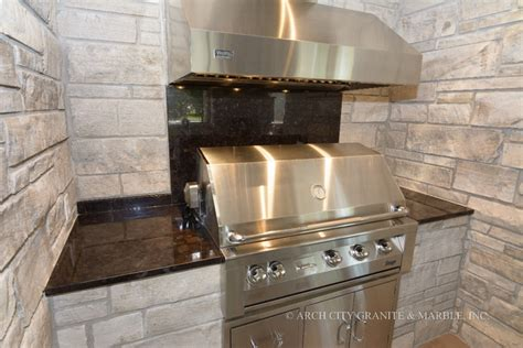 granite countertops for outdoor kitchens in st louis