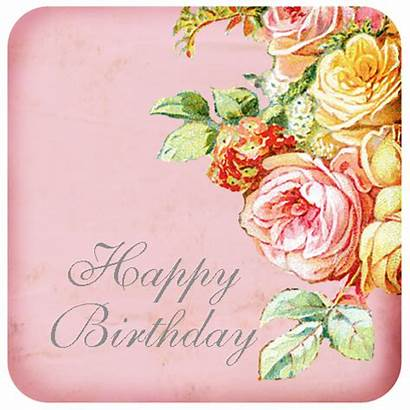 Birthday Happy Roses Clip Thinking Cards Birthdays