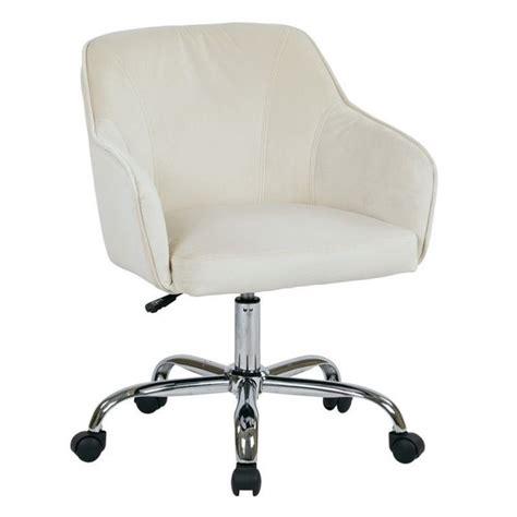 velvet fabric office chair in oyster brl26 x12