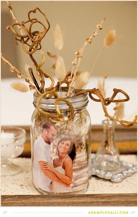 table centerpieces using photos wedding decor ideas photo centerpieces lots of love susan