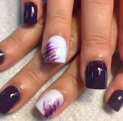 fingernã gel design vorlagen 30 trendy purple nail designs you to see