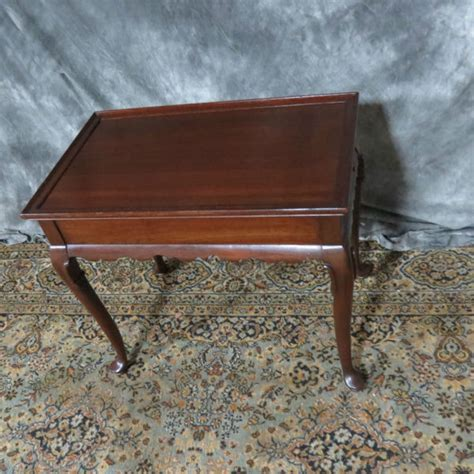 Ethan Allen Cherry Desk by Ethan Allen Cherry Tea Table Casey And Gram