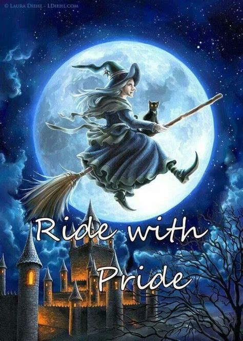 halloween witches witch pride ride