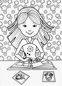 Fun Coloring Pages  Groovy Girls Coloring Pages